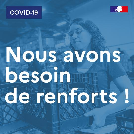 je veux aider covid 19