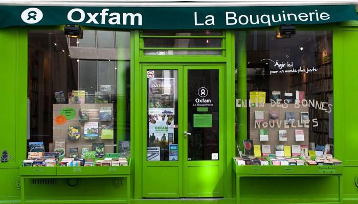 librairie oxfam - don de livres