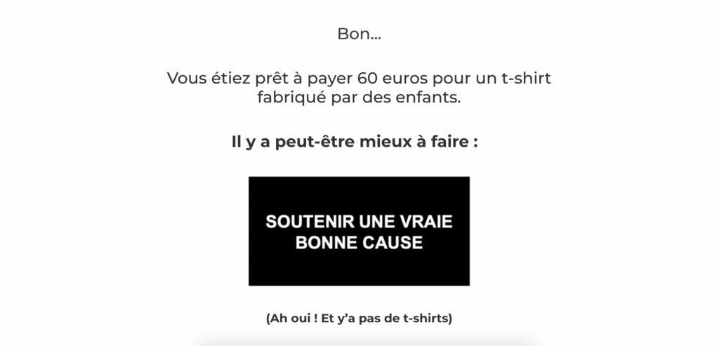surprise fin achat tee shirt broute now
