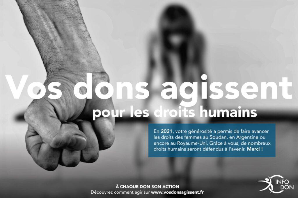 Défense des droits humains ONG associations