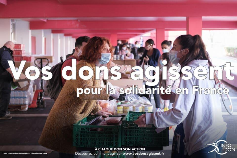 Solidarité France envers les étudiants - vos dons agissent 2021