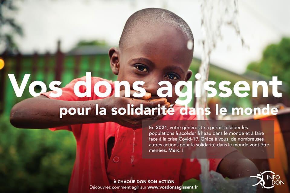 agir pour la solidarité dans le monde - vos dons agissent