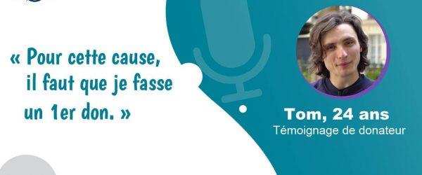 Couverture témoignage Tom - causes environnementales - Vos Dons Agissent 2021-01