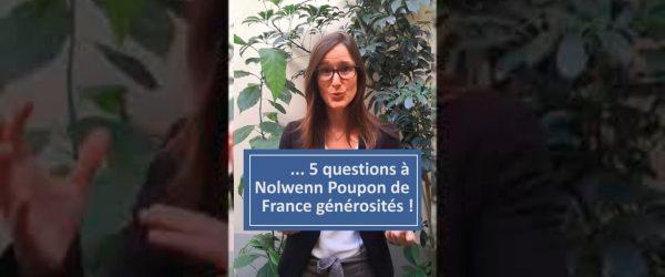 Les dons des Français et la Covid 19 - interview