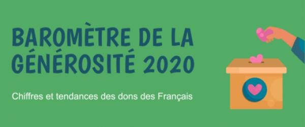 baromètre de la générosité des français en 2020 - couverture site